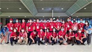 Đoàn thể thao Việt Nam về nước