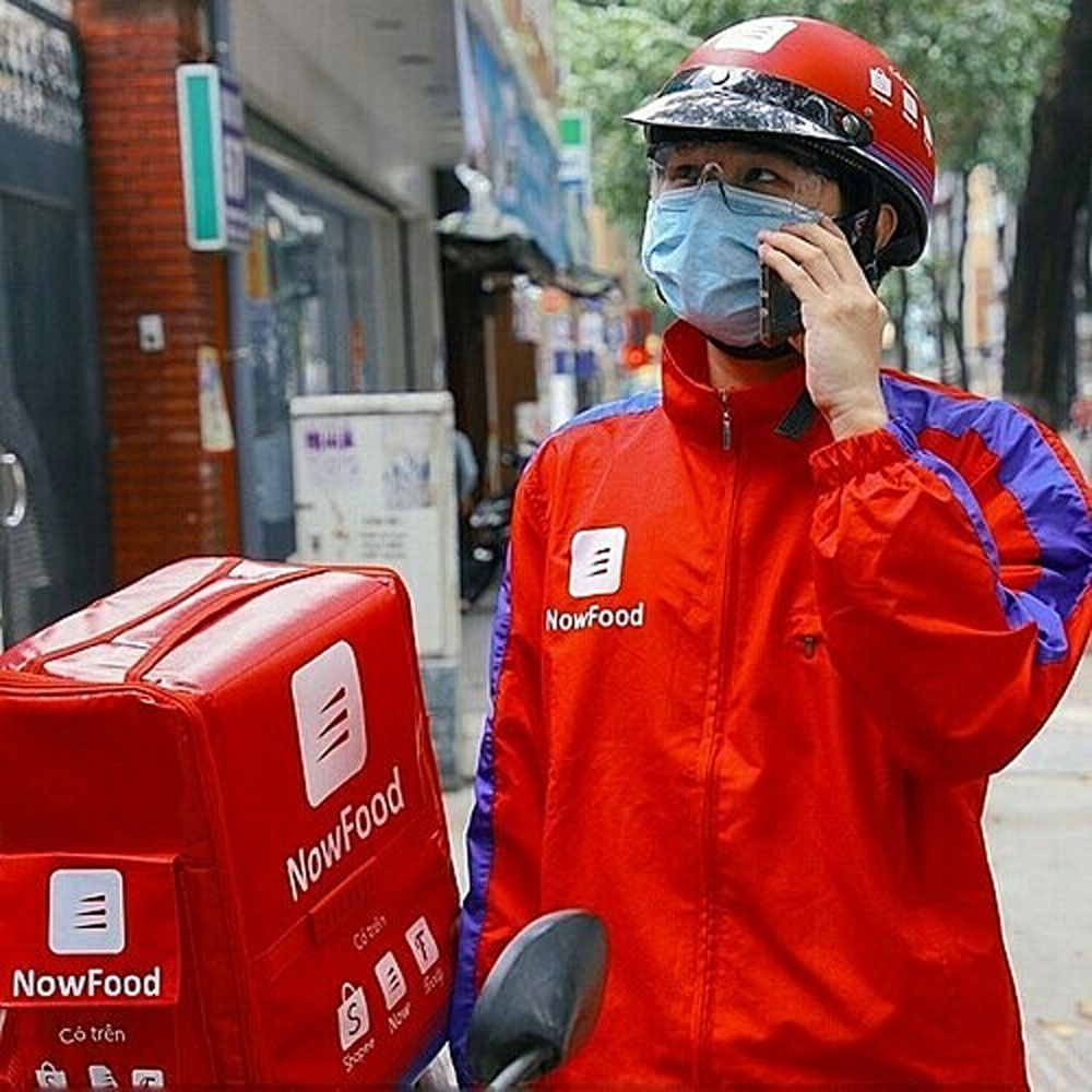 Delivery platform Now, resumes Hanoi service, delivery of groceries,  essential goods,  food delivery service