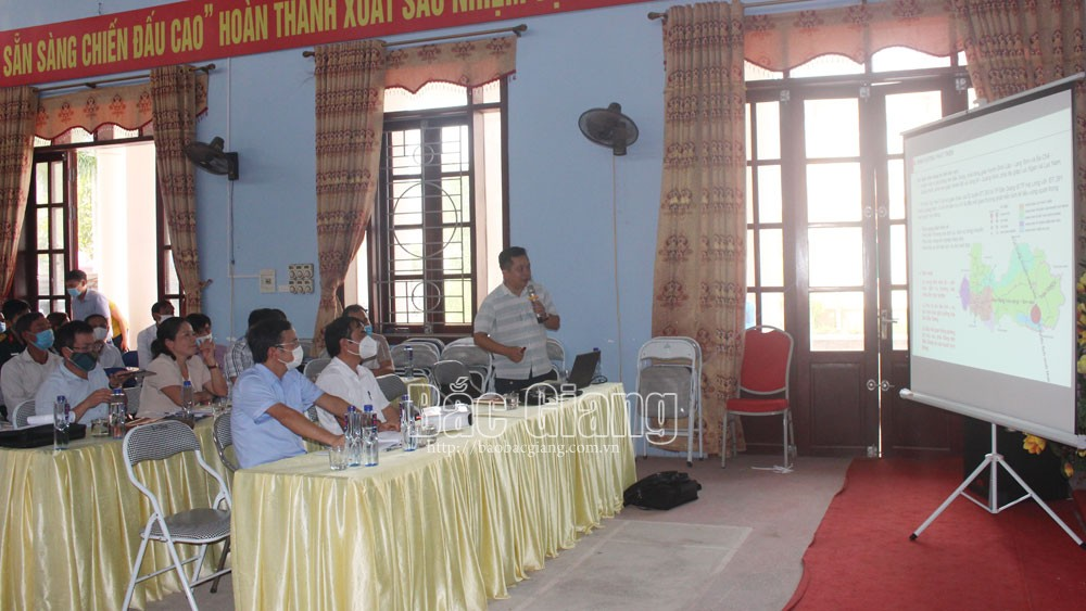 Bac Giang province, General Planning Project, Tay Yen Tu town, development orientation, infrastructure frames, traffic infrastructure and facilities