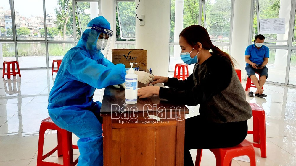 No new local case, Bac Giang, 21 days, community infection, new Covid-19 infection, well control, treatment facility, community immunity