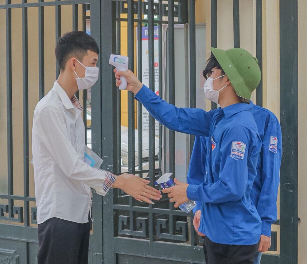 kỳ thi tốt nghiệp THPT, đợt 2, Bắc Giang, Covid-19.