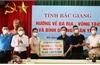 Bắc Giang hỗ trợ tỉnh Bình Dương và Bà Rịa - Vũng Tàu gần 130 tấn nhu yếu phẩm