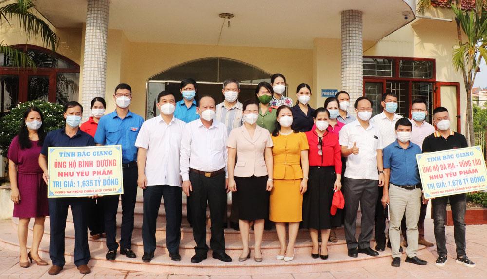 Covid-19, Bắc Giang, chia tay, tình nguyện viên, nhu yếu phẩm