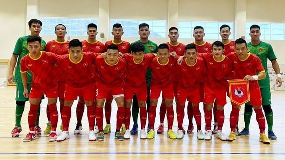Vietnam, FIFA, futsal world ranking, Vietnam national futsal team, improved their positions, friendly tournament