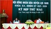 Lục Nam: 5/15 chỉ tiêu KT-XH đạt trên 50% kế hoạch