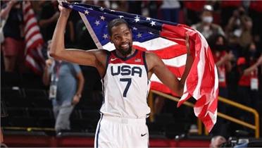 Mỹ tiếp tục thống trị bóng rổ nam Olympic