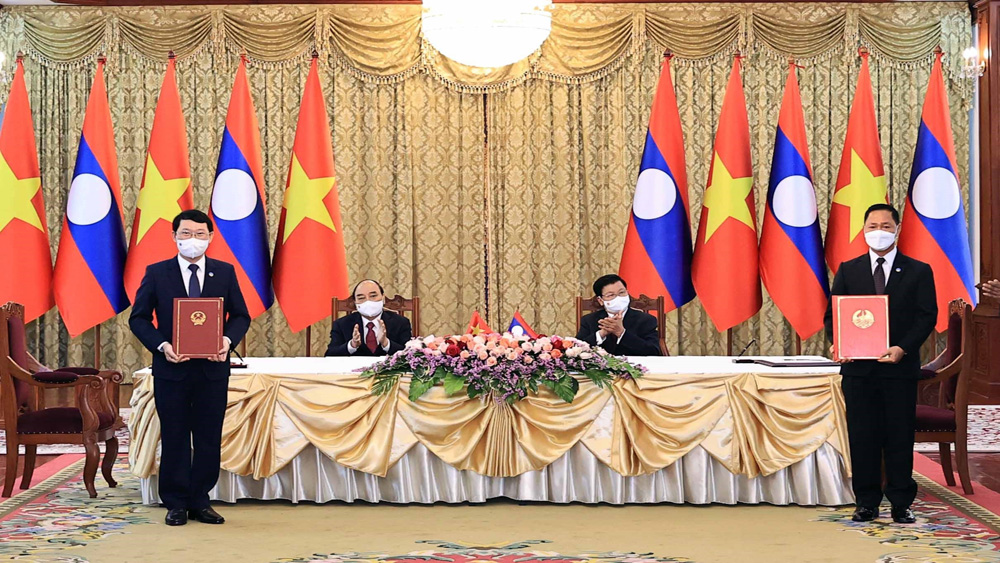 Local-level international cooperative agreement inked between Bac Giang and Xaysomboun provinces