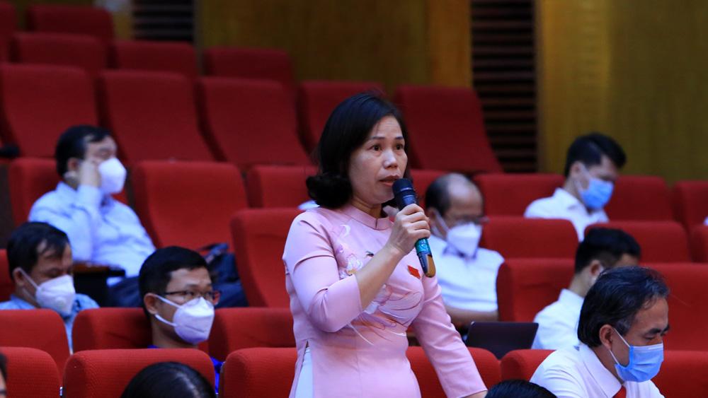 Bắc Giang, HĐND tỉnh, kỳ họp thứ 2, thảo luận, đồng chí Lê Thị Thu Hồng,