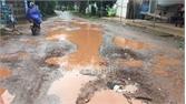 Đường thị trấn Vôi-An Hà xuống cấp nghiêm trọng