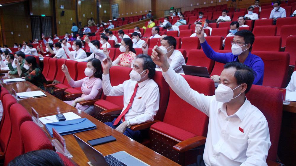Bắc Giang, HĐND tỉnh, kỳ họp thứ 2, bế mạc, đồng chí Lê Thị Thu Hồng
