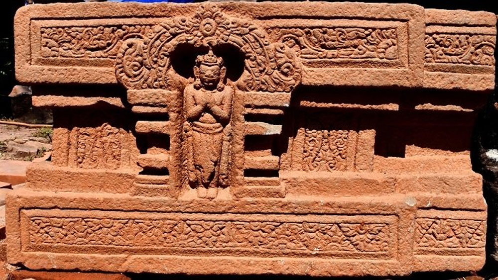 My Son A10 pedestal, national treasure, World Cultural Heritage Site, restoration work, Champa sculpture, rare work