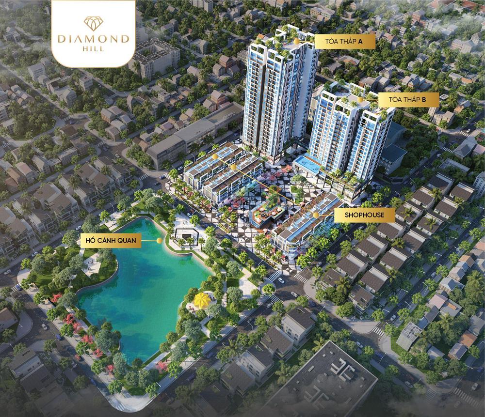 Chung cư BV Diamond Hill Bắc Giang, Át chủ bài,  nhà đầu tư, thông thái, Bắc Giang, bất động sản