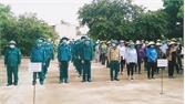 Diễn tập phòng, chống lụt bão tại xã Vũ Xá