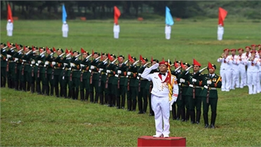 Tổng duyệt Lễ khai mạc Army Games 2021 tại Việt Nam