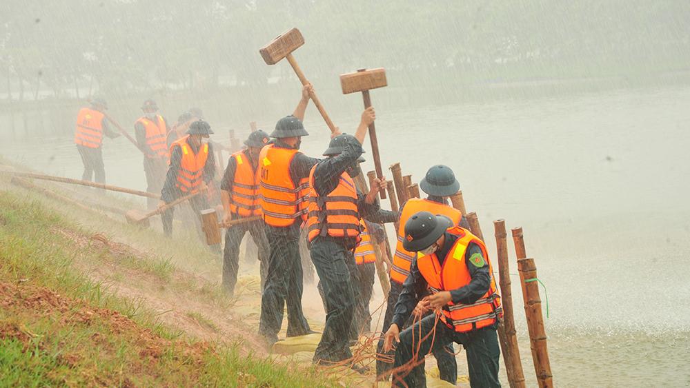 Bắc Giang: Diễn tập phòng, chống thiên tai - tìm kiếm cứu nạn năm 2021