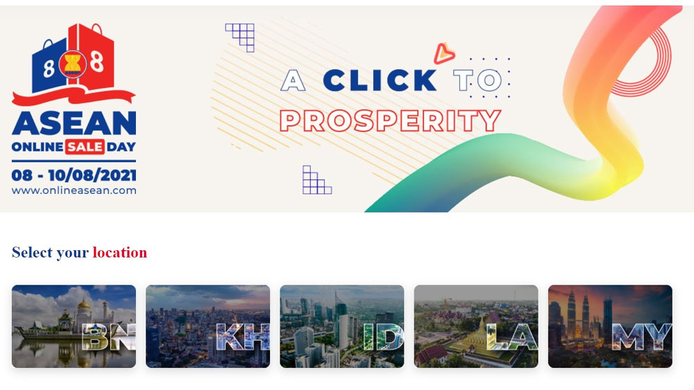 ASEAN Online Sale Day, regional digital sales event, number of businesses, wide range of products, regional digital event
