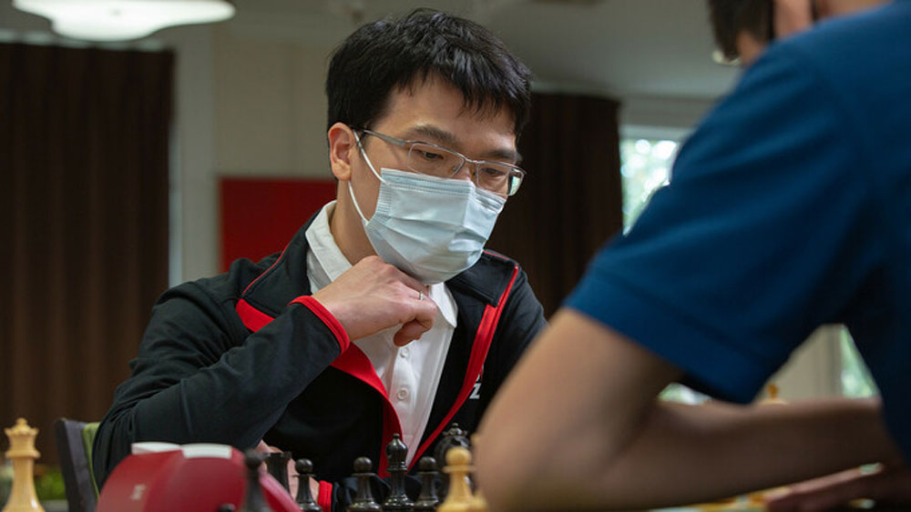 Vietnamese grandmaster finishes in top five of US chess tournament