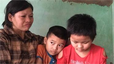 Người mẹ đơn thân cầu xin cứu 2 con mắc bệnh hiểm nghèo