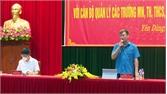 Lãnh đạo Huyện ủy, UBND huyện Yên Dũng đối thoại với cán bộ ngành giáo dục