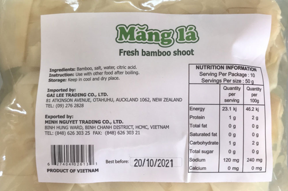 Vietnam's agricultural products, foodstuffs and foods, New Zealand market, leading supplier, export turnover