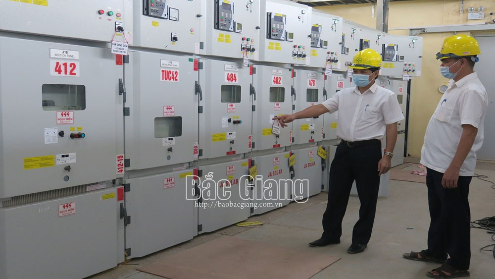 Quang Chau, 110kV Substation, biggest capacity, Bac Giang province, Northern Power Corporation, T3 transformer, technical qualification
