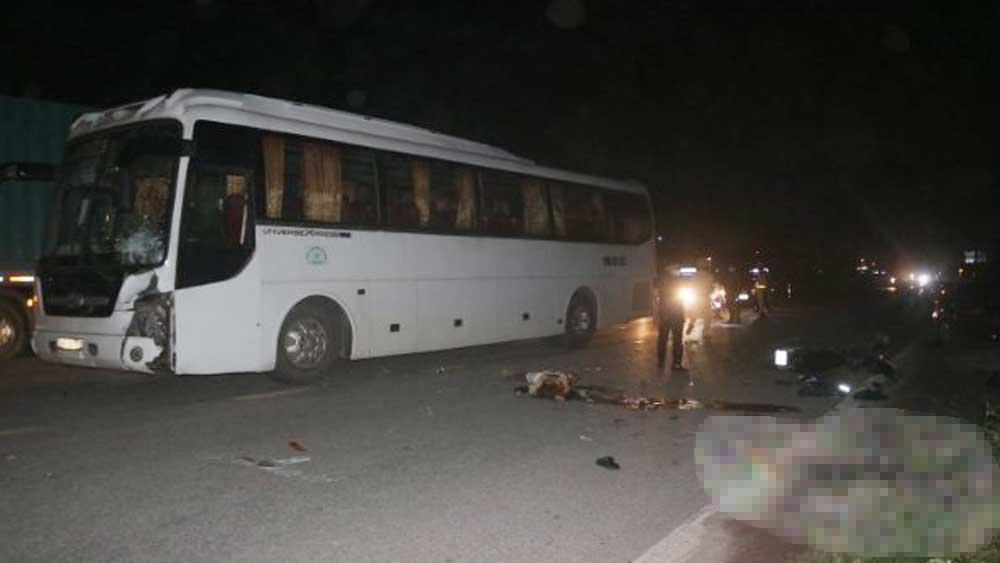 Việt Yên: Tai nạn giao thông nghiêm trọng khiến 2 người tử vong
