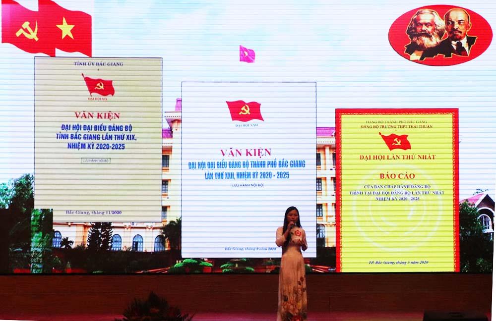 báo cáo viên, TP Bắc Giang, Bắc Giang