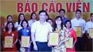 Hiệp Hòa: Trao giải cho các thí sinh xuất sắc tham gia Hội thi báo cáo viên giỏi năm 2021