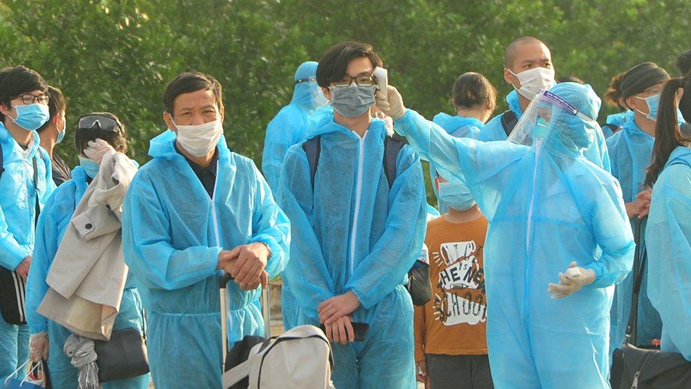 Bắc Giang: Tiếp nhận, cách ly 125 công dân trở về từ Liên bang Nga