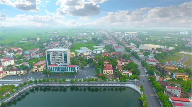 Nỗ lực hoàn thành các tiêu chí  đô thị loại IV