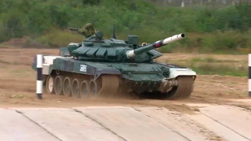 """Nga, Myanmar về nhất lượt trận đầu """"Xe tăng hành tiến"""" Army Games 2021"""