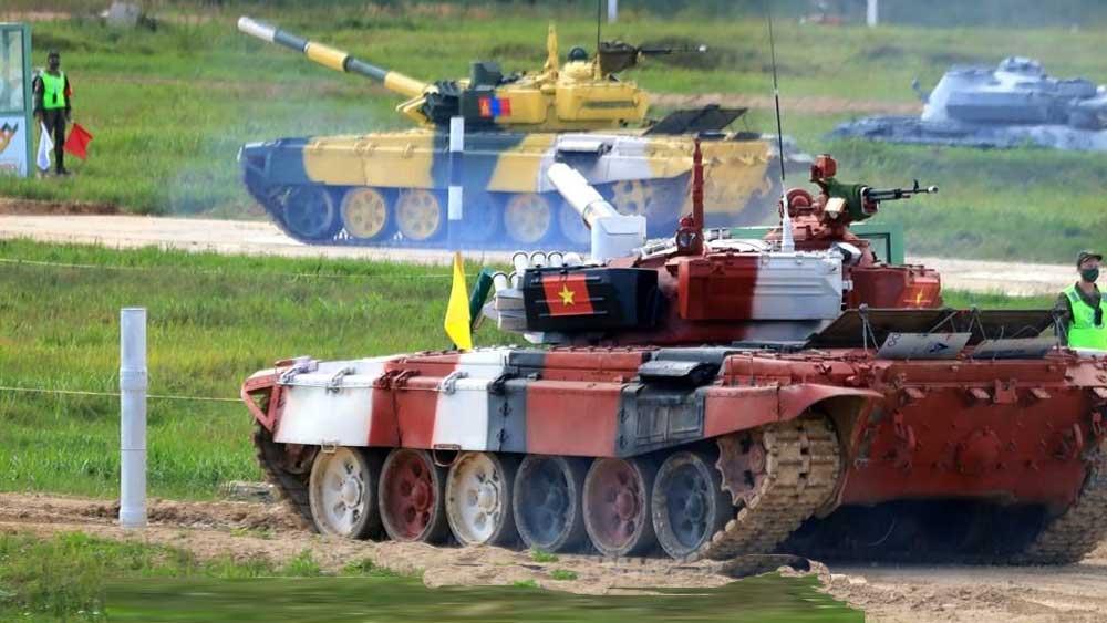 Đội tăng Việt Nam đứng thứ 2 trong trận ra quân