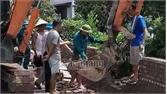 Yên Dũng: Tháo dỡ nhiều công trình xây dựng vi phạm