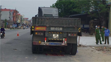 Hiệp Hòa: Tai nạn giao thông làm 1 người chết