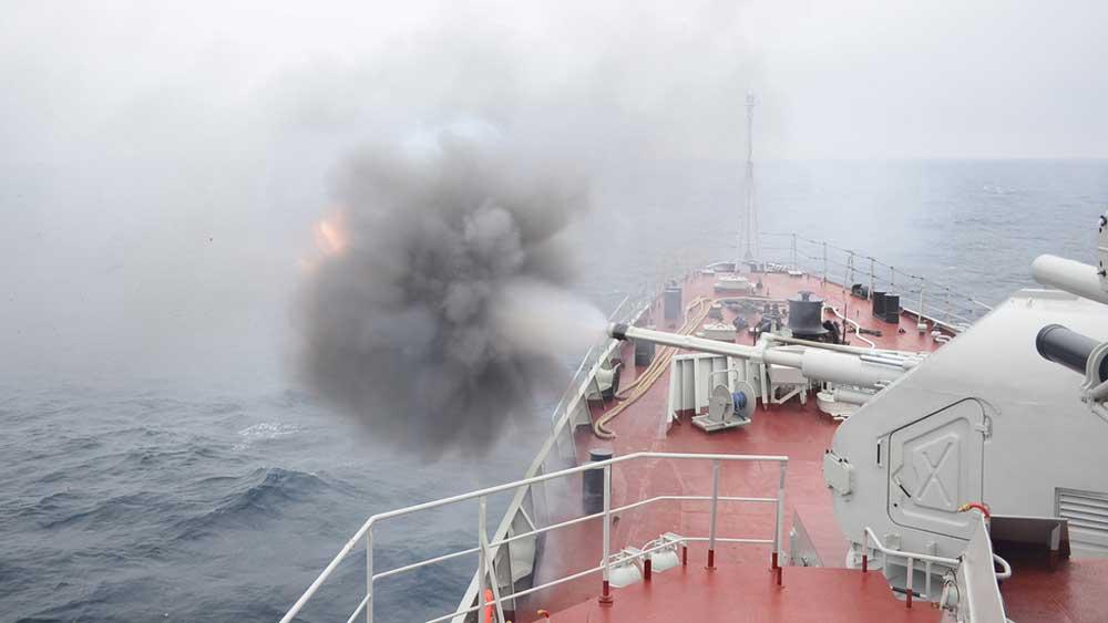 Chiến hạm Việt Nam liên tiếp hạ mục tiêu tại Army Games 2021