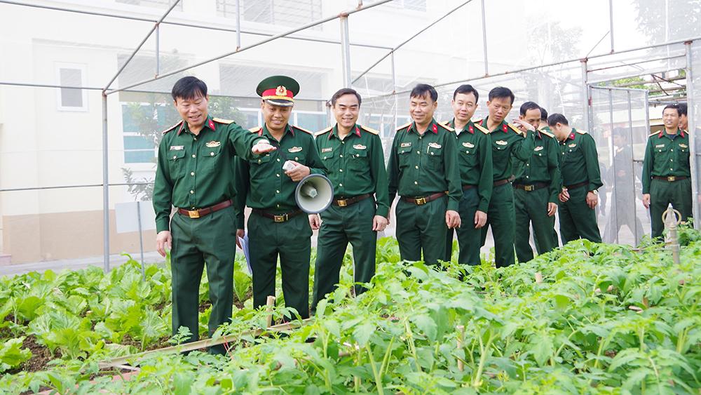 Ban CHQS huyện Yên Dũng xây dựng doanh trại chính quy, sáng, xanh, sạch, đẹp