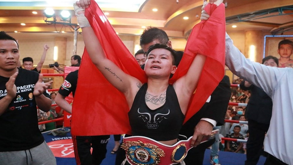 Vietnamese boxer to fight for world championship belt in October