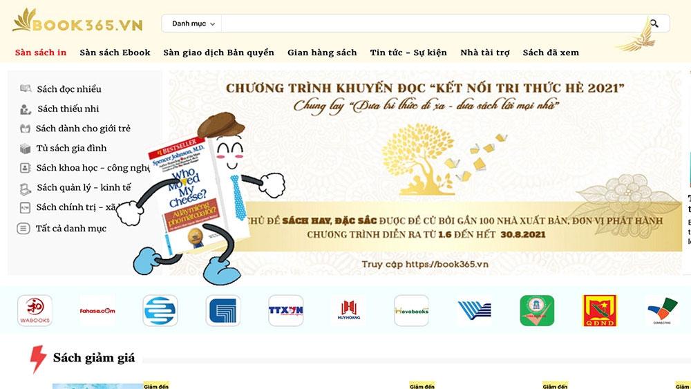 Online book platform, 80% discounts, new school year, national online book platform, Book365, huge discounts