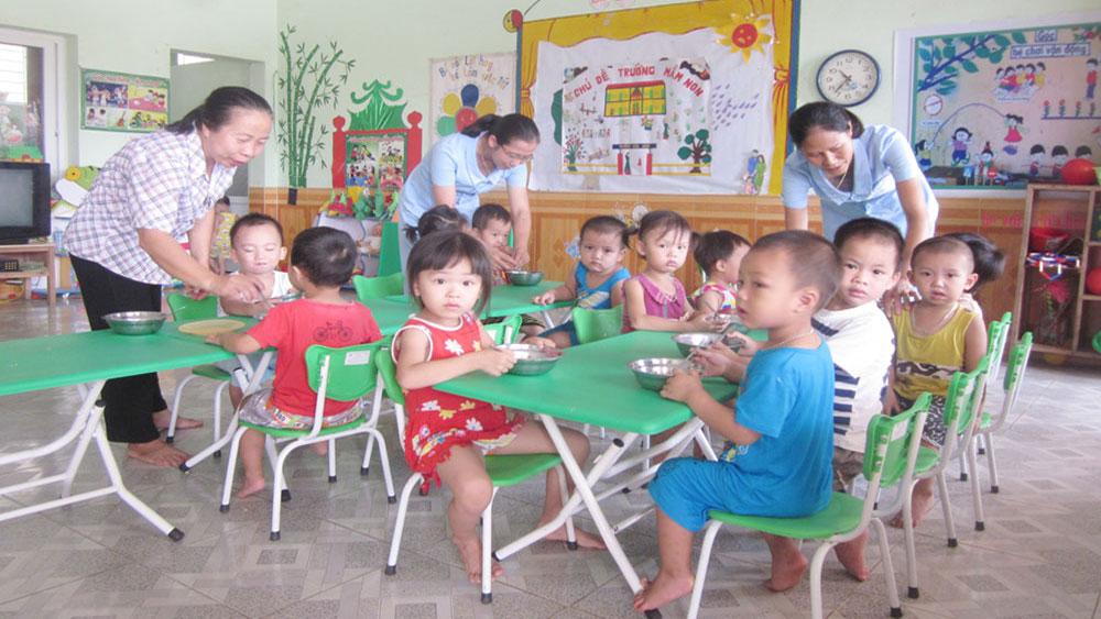 Chính sách hỗ trợ giáo dục mầm non ngoài công lập ở Bắc Giang