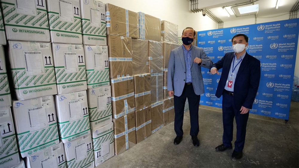 WHO, medical supplies, Vietnam's Covid-19 fight, World Health Organisation, Covid-19 response, COVAX Facility
