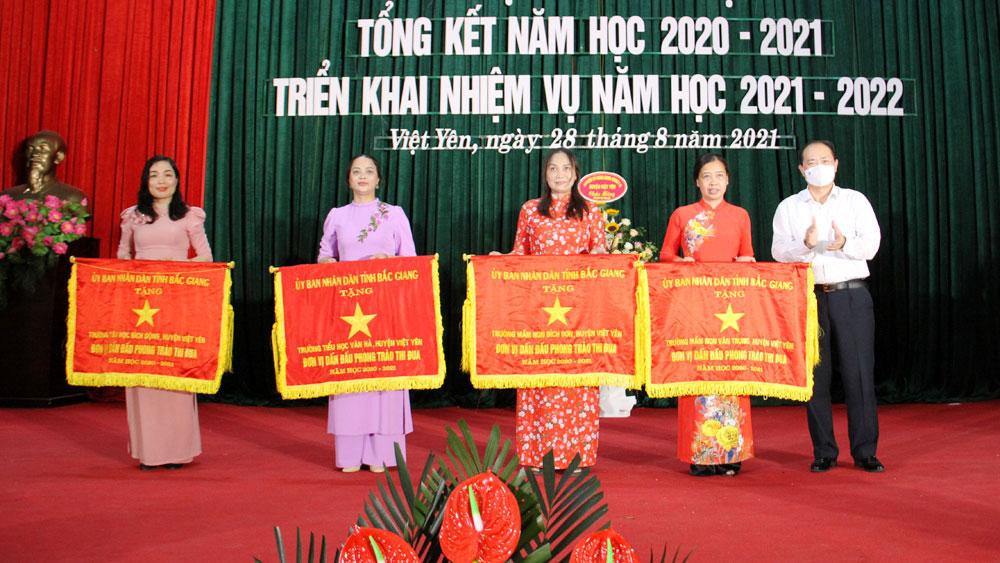 Bắc Giang, việt yên, giáo dục, tổng kết, năm học mới