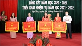 Việt Yên: Khen thưởng các tập thể, cá nhân có thành tích trong năm học 2020-2021