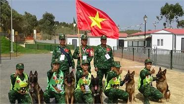 Đội tuyển Pháo binh Việt Nam có khả năng giành Huy chương Đồng