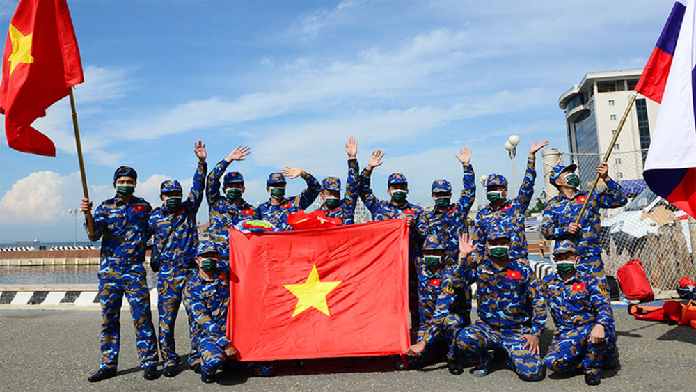 Vietnam wins silver at Army Games Sea Cup