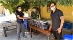 Swedish family supports Vietnamese during pandemic