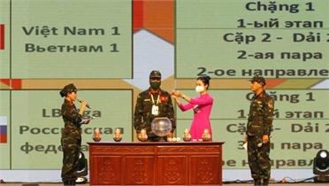 Khai mạc hai nội dung thi Army Games 2021 tại Việt Nam