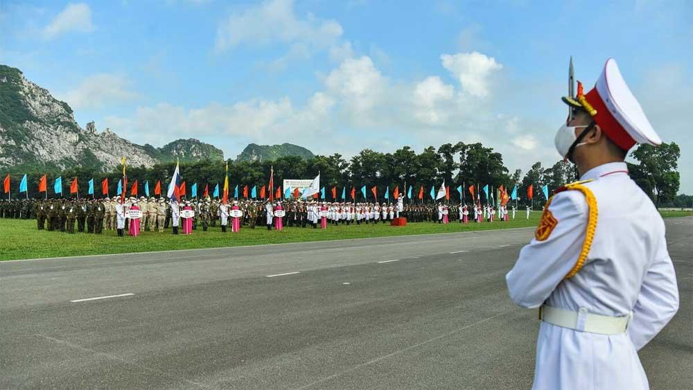 Tám đội tuyển dự thi Army Games 2021 tại Việt Nam