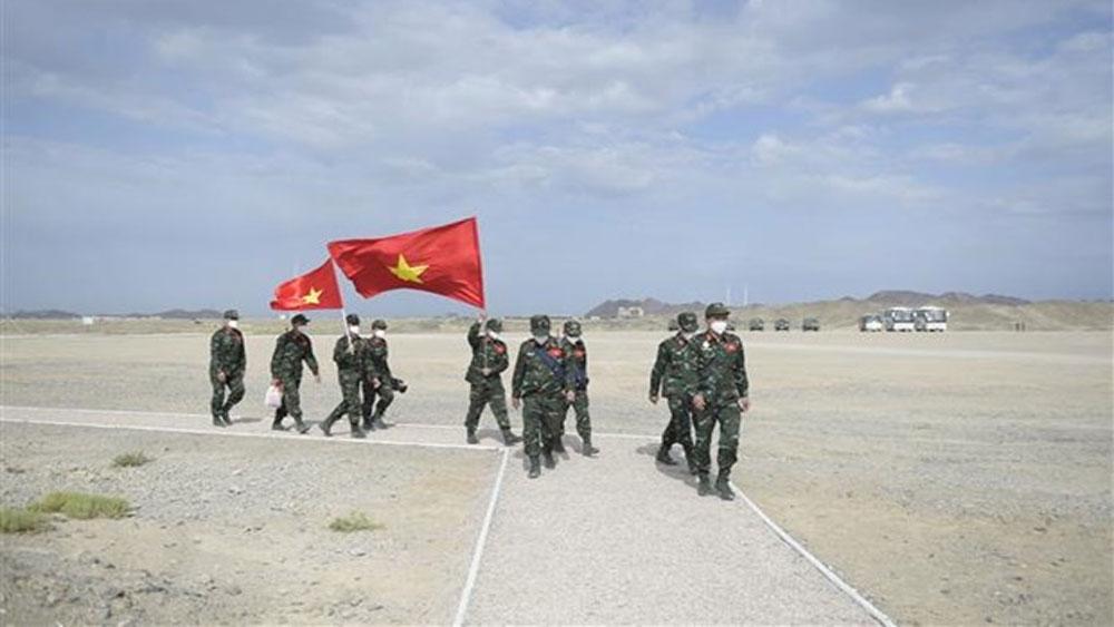Army Games: Đội tuyển Hóa học hoàn thành môn thi Môi trường an toàn