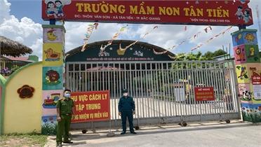 Bắc Giang: Phát hiện gói hàng nghi ma túy tuồn vào khu cách ly phòng dịch