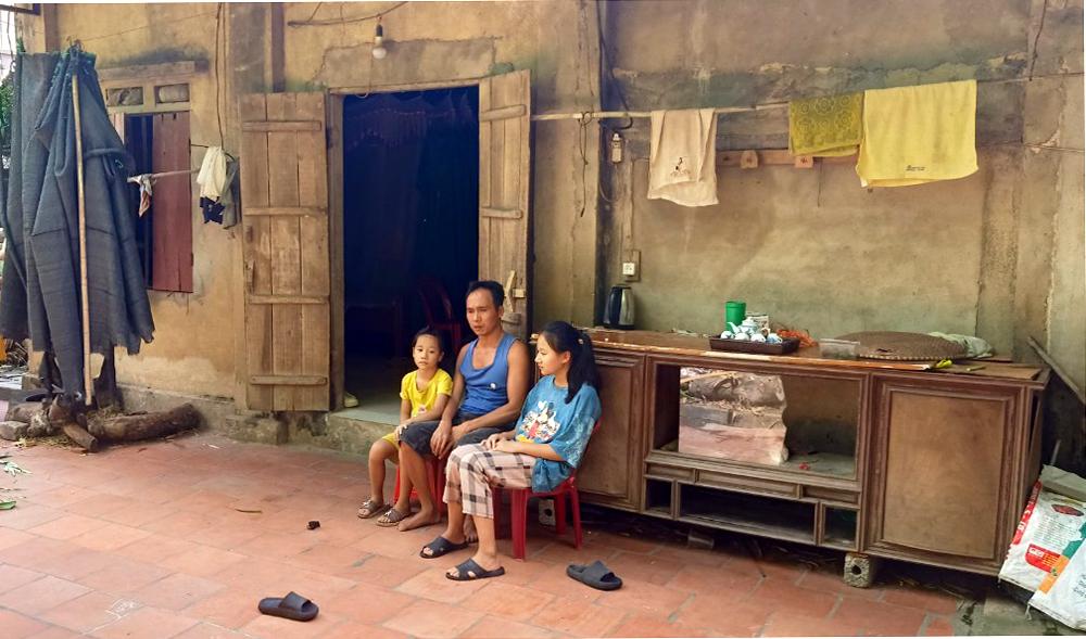 người phụ nữ ung thư không có điều kiện chữa trị, chị Tạ Thị Vui, Hoàng Thanh, Hiệp Hòa